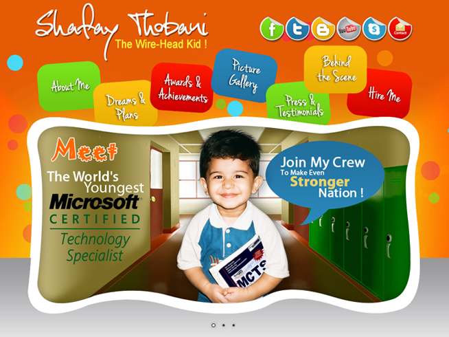 Shafay Thobani - The World's Youngest MCTS