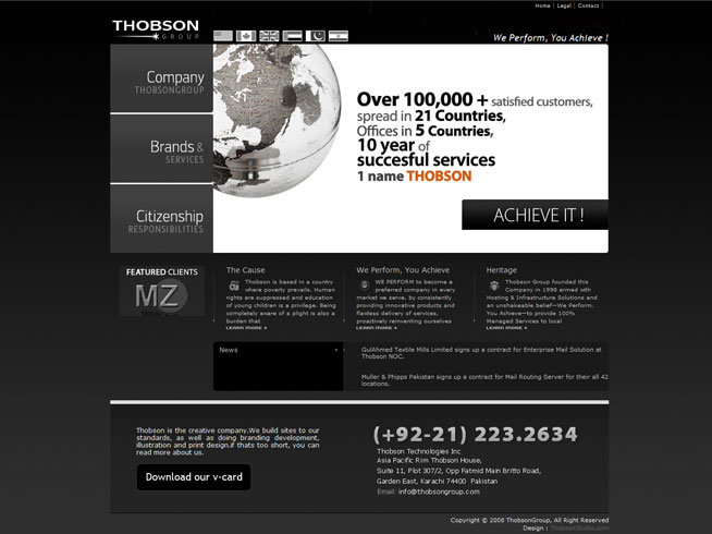 Thobson Group Inc