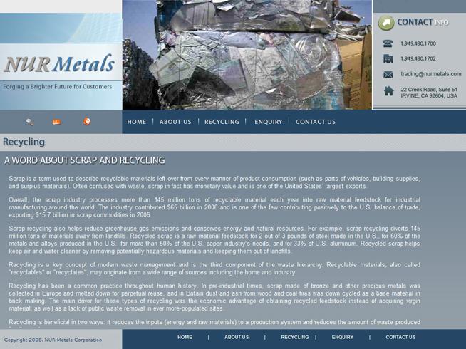 NUR Metals Inc