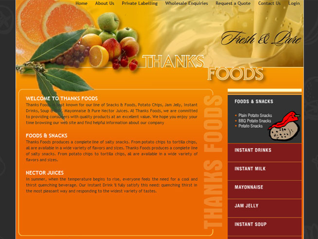 Thanks Foods Pvt Ltd