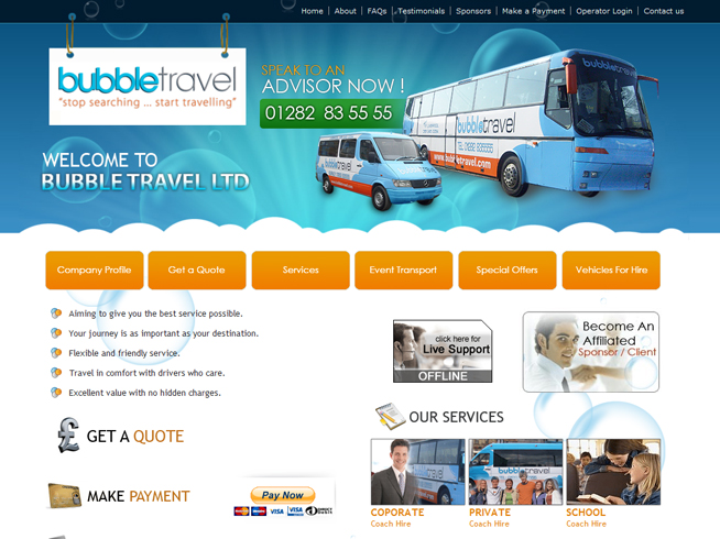 Bubble Travel Limited