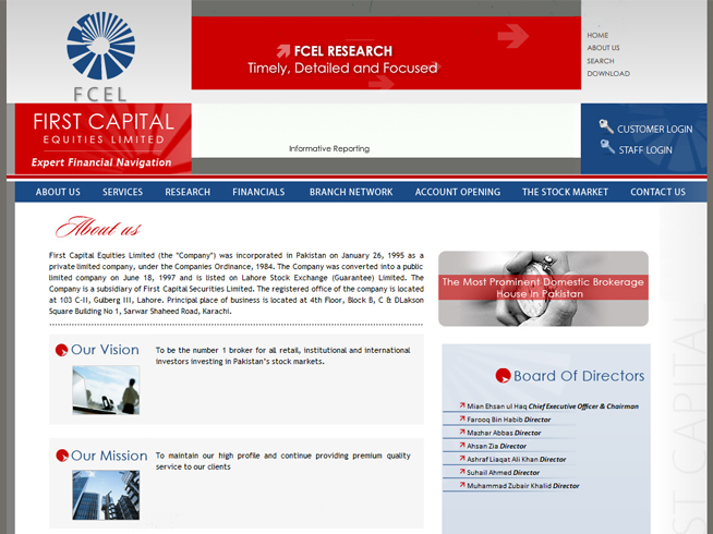 First Capital Equities Limited