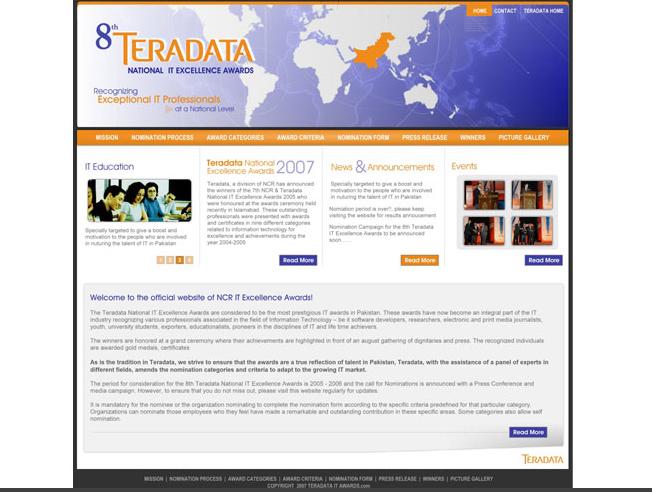 TeraData IT Awards