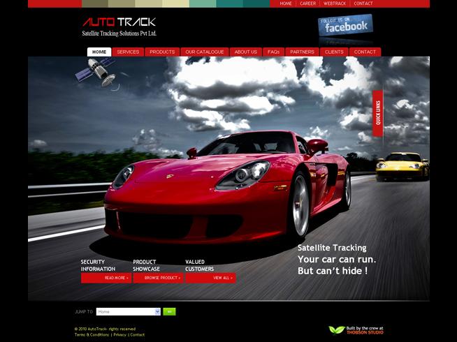 Auto Track Satellite Tracking Company