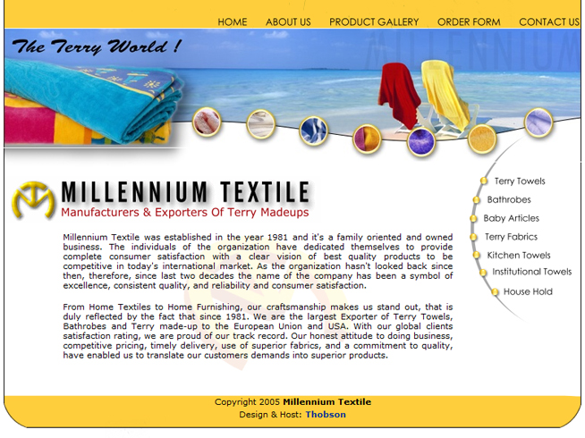 Millennium Textile Pvt Ltd
