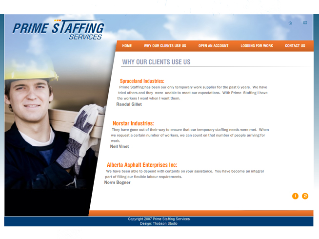 Prime Staffing Services Canada